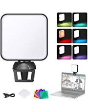 Neewer Video Conference Lighting Kit with Clamp for Phone/Laptop/iPad, Zoom Lighting for Laptop, Color Filters for Video Conferencing/Remote Working/Zoom Calls/Self Broadcasting/Live Streaming