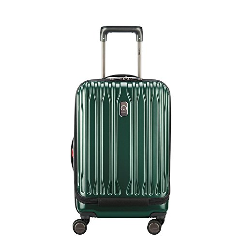 Delsey Chromium Lite International Expandable Spinner Carry-On Emerald One Size