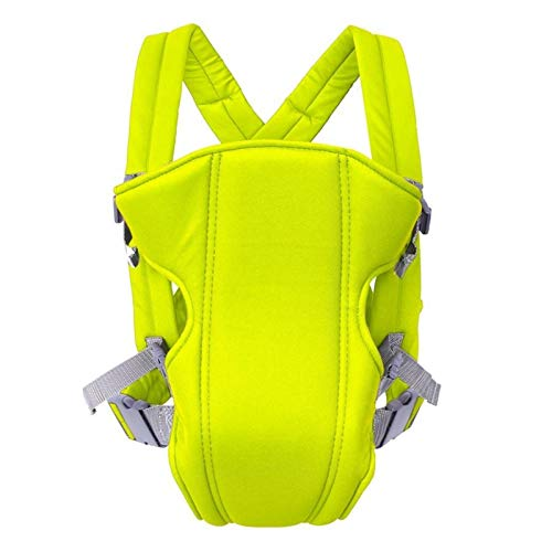 XYLZDPZ Syczdyebd Portador de bebé ergonómico Niño Infantil Bebé Hips Hipsat Sling Frente Frente Canguro Portador de Baby Wrap for Baby Travel 0-18 Meses Fular portabebe (Color : Yellow)