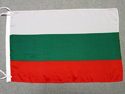 AZ FLAG Flagge BULGARIEN 45x30cm freiner Polyester - BULGARISCHE Fahne 30 x 45 cm - flaggen