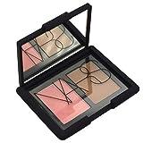 NARS Blush Bronzer Cheek Powder Duo, Travel Size Mini Makeup Palette, Holiday Cosmetics Beauty Gift Set - Orgasm/Laguna, 5 g, 0.16 oz