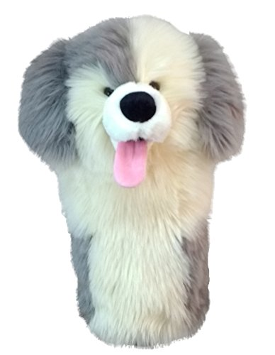 Daphne 's Unisex Rescue Hond Headcover/rackethoes, grijs, NA