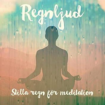Stilla regn för meditation