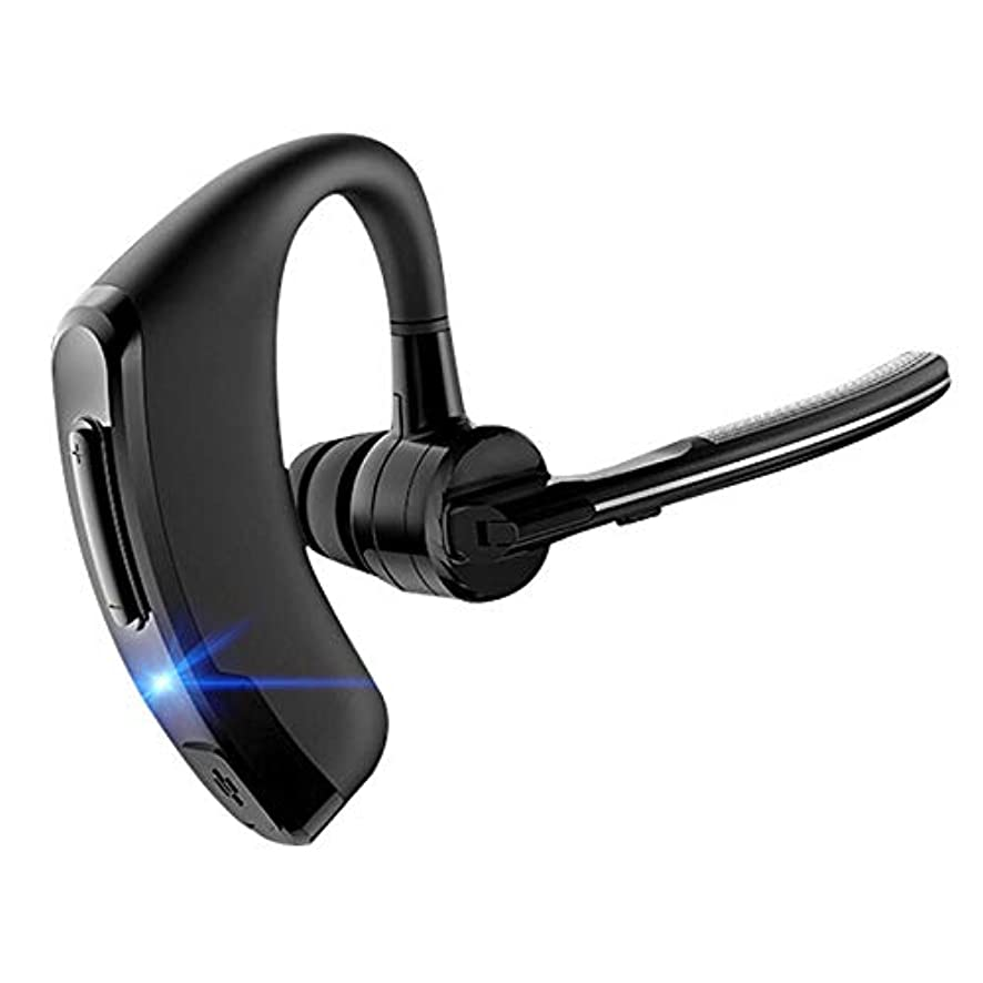 Bluetooth Headphones, Best Wireless Business Earphones Mic Waterproof HD Stereo Sweatproof Earbuds for MIC Hands Free Workout 12 Hour Battery Noise Cancelling Headsets(P8)