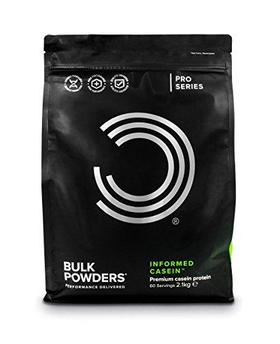 BULK POWDERS Informed Casein, Mizellares Kasein Protein Pulver, Eiweißpulver, Doppel-Schoko, 2,1 kg, VERPACKUNG KANN VARIIEREN