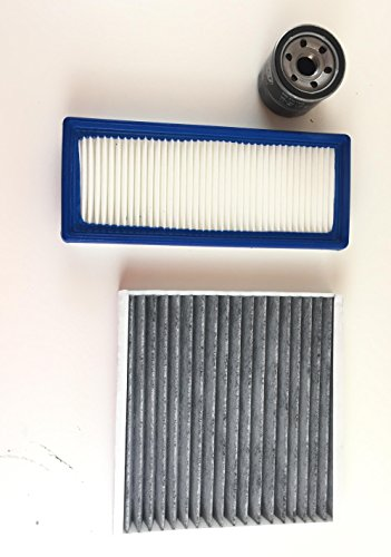 Ölfilter Luftfilter Aktivkohlefilter Smart Fortwo 451 1.0