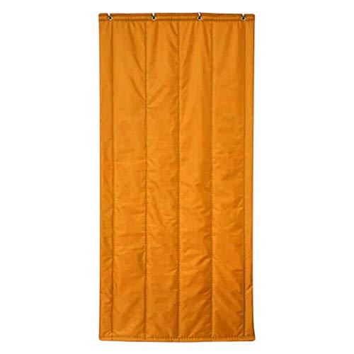 ZXL deurgordijn, thermische isolatie, warm houden, winter, winddicht, deuropening Oxford, doek, nauwsluitend, 4 kleuren, 14 maten (kleur: wijnrood, maat: 80X200cm)