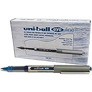 uni-ball Eye Fine UB-157 Tintenroller 12er-Pack Blau