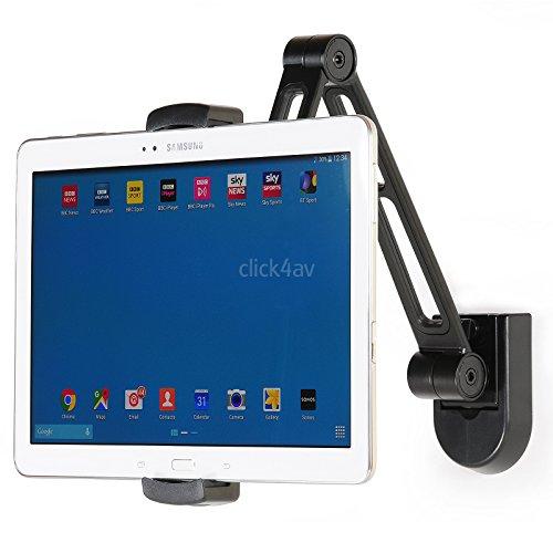 Soporte de pared o para instalar bajo armarios de cocina para la iPad mini o...