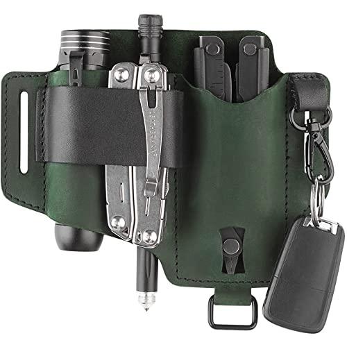 Multitool Leather Sheath for Belt - Handmade Holster for...