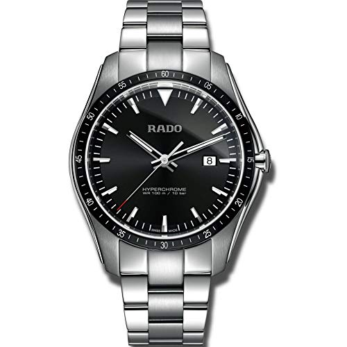 Rado HyperChrome Herren-Armbanduhr 44.9mm Armband Edelstahl Batterie R32502153.