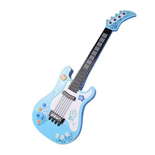 JesseBro76 Simulación Infantil Rock Guitarra electrónica Juguete ...