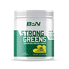 "✔️ Supports increased natural energy without added stimulants ✔️ Supports an improved digestive system and gut health ✔️ We consider Strong Greens a ""nutrient powerhouse"" because it is packed with vitamins, minerals and nutrients ✔️ Supports a health..."