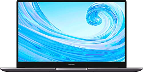 HUAWEI MateBook D 15 Zoll Laptop, FullView 1080p Full HD Ultrabook, 512 GB PCIe SSD, 8GB RAM, AMD Ryzen 7 3700U, Fingerabdrucksensor, versteckbare Kamera, Windows 10 Home - grau