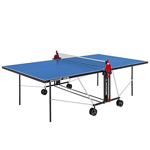 DUNLOP Evo 500 Outdoor Table Tennis Table, Color- Blu