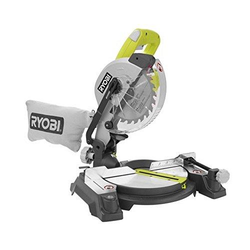 Ryobi ZRTS1143L 7-1/4in Miter Saw with Laser Green (Renewed)