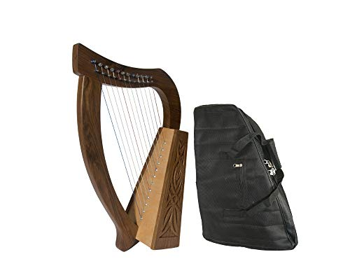 Baby Celtic Harp Package Includes: Baby Celtic Harp - Birch + New Baby Harp Nylon Carry Case Bag