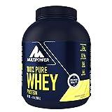 Multipower 100% Pure Whey Protein – wasserlösliches Proteinpulver mit Banane Mango Geschmack – Eiweißpulver mit Whey Isolate als Hauptquelle – Vitamin B6 und hohem BCAA-Anteil – 2 kg