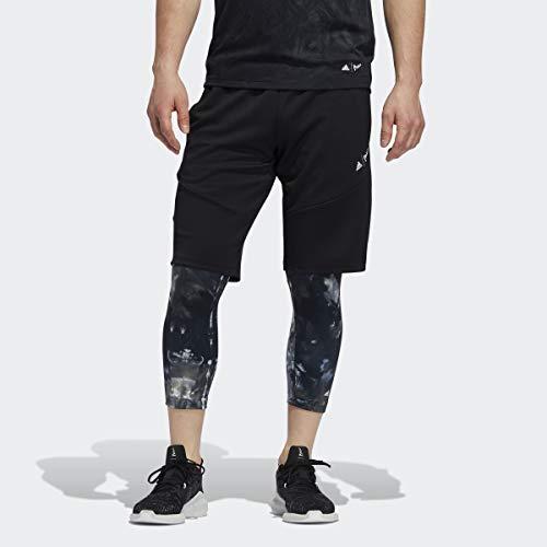 adidas Pantalón Corto Parley para Hombre, Hombre, Pantalones Cortos, F1950MTR800PYB, Negro, S
