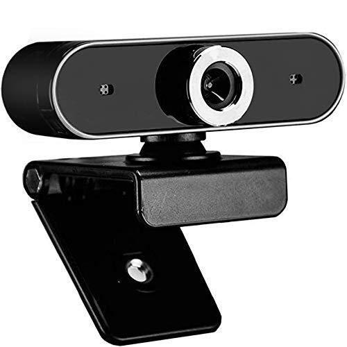BTXX Cámara Web USB Plug HD, Webcam con micrófono, cámara USB Plug HD Mini cámara Web del Ordenador for los cursos en línea, en Vivo, Video Llamada, Office Online