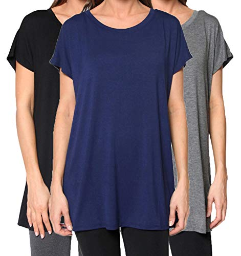 Free to Live 3 Pack Women's Tunic