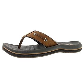 Sperry Men s Santa Cruz Thong Sandal TAN 8 M