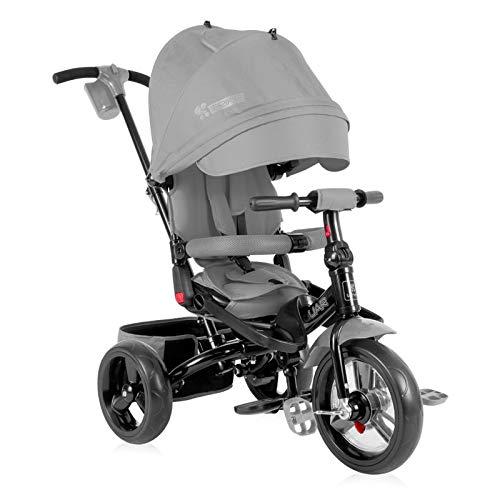 Lorelli Jaguar Dreirad skalierbarer für Baby/Kinder grau