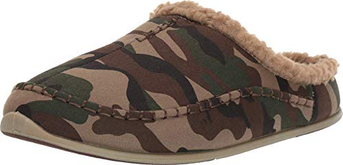Deer Stags Nordic Slipper Camouflage US Men's 13 W (3E)