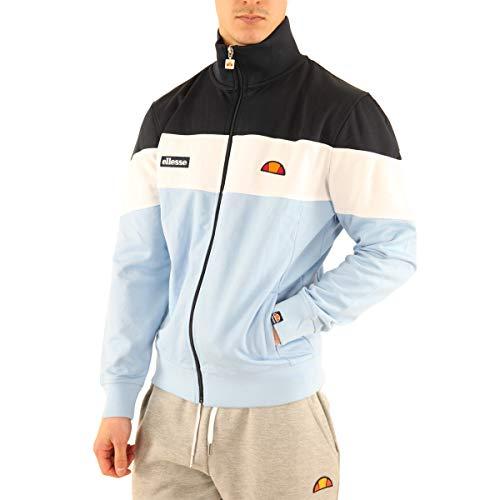 ellesse Herren Caprini Trainingsjacke, Blau, XS