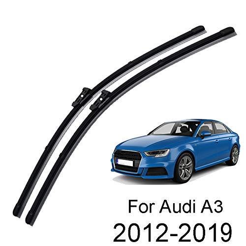 onbekend voorruit ruitenwisser messen Set,Voor Audi A3 8V 2012 2013 2014 2015 2016 2017 2018 Voorruit Wiper