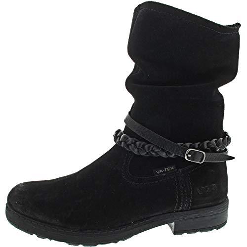 Vado | Ilka | Stiefel Mädchen gefüttert - schwarz, Farbe:schwarz;Größe:36