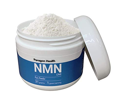 New NMN ONE | 31 Grams | Pure Stabilized NMN Powder Supplement (Nicotinamide Mononucleotide) | 1 Gram per Serving | 31 Day Supply
