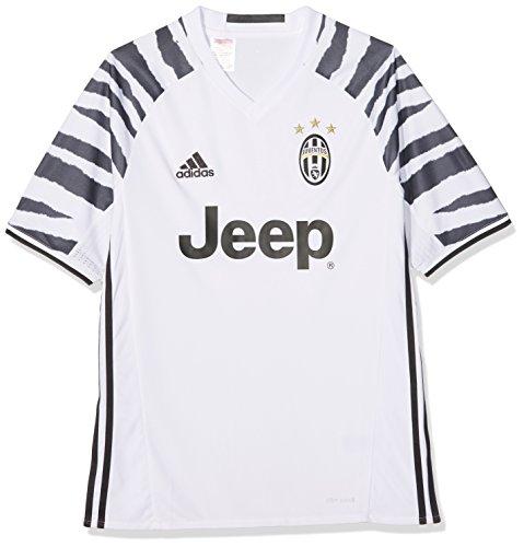 adidas Juve 3 JSY Y Camiseta 3ª Equipación Juventus FC 2015/2016, Niños, Blanco/Negro, 7-8 años