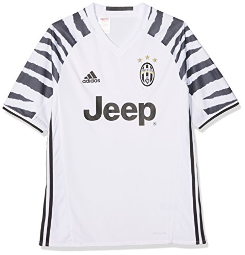 adidas Kinder Juventus Turin Trikot, White/Black, 176