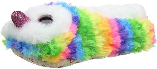 Ty – Zapatillas de Peluche Owen el búho, (Multicolor), 33 EU
