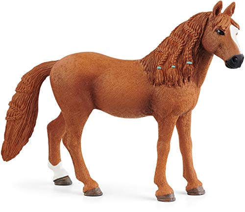 Schleich Horse Club, Animal Figurine, Horse Toys for Girls and Boys 5-12 years old, German Riding Pony Mare