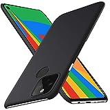 Google Pixel5 ケース SHINEZONE Google Pixel 5 レンズ保護 耐衝撃 指紋防止 超薄型 超耐磨 軽量 ピクセル5 スマートフォンケース (Google Pixel 5ケース ブラック)