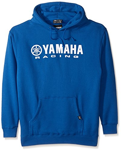Factory Effex 12-88432 'Yamaha' Hooded Pull-over Sweatshirt (Blue, Large)