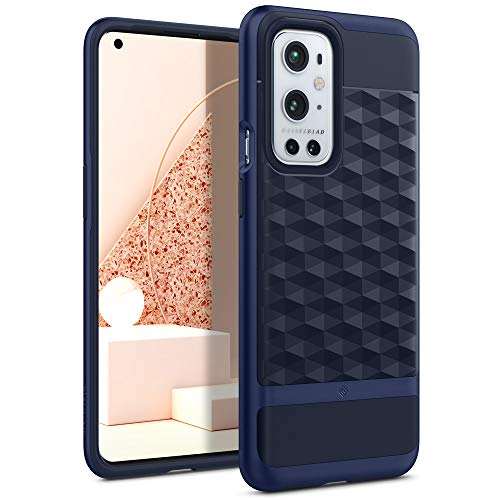Caseology Parallax Back Cover Case Compatible with Oneplus 9 Pro Case (2021) - Midnight Blue