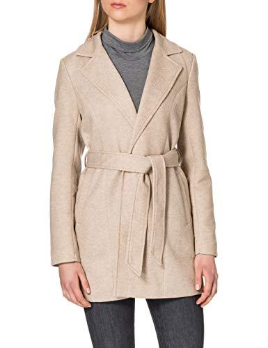 Only Onlkaren Light Coat Otw Abrigo, Beige, L para Mujer