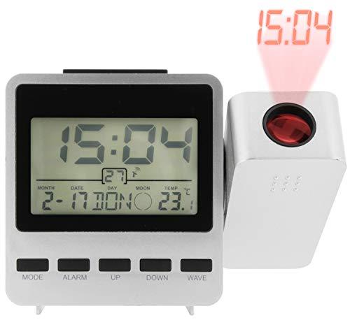 Zeit-Bar Digitaler Funkwecker mit Projektionsfunktion