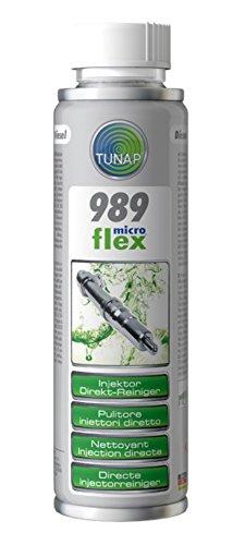 Tunap Microflex 989 Nettoyant pour protection directe des injecteurs diesel - Nettoyant-injecteur - Nettoyage Diesel