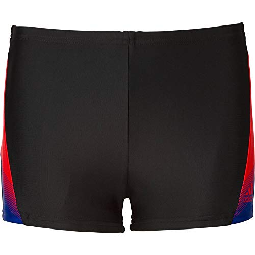 adidas, Gorshop Boxer, zwembroek voor jongens, zwart/actred, maat 116