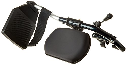 Drive Medical ELR002R - Soporte para pierna derecha (accesorio para silla de ruedas, aluminio)
