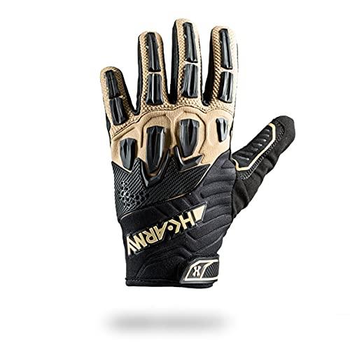 Full Finger Hardline Armored Gloves -Tactical - Medium