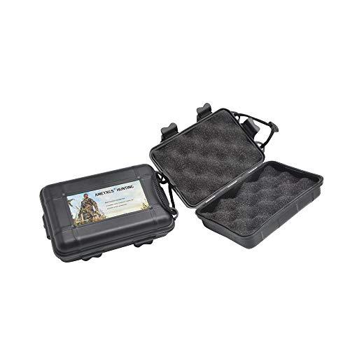 ZSHJG 2 Piezas Tiro con Arco Caso de Punta de Flecha Caja de Punta de Flecha Arrowheads Caja de Almacenaje para Protector