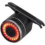 Luz de la Cola de Bicicleta, Luces de Bicicleta con Luces de Freno de Bicicletas Recargables USB, Luces traseras de Ciclismo Coloridas con Luces de Bicicleta traseras Impermeables