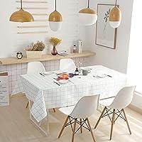 北欧 テーブルクロス テーブルカバー, 防水防油 撥水 厚手 (色 : B, サイズ さいず : 140*140cm)