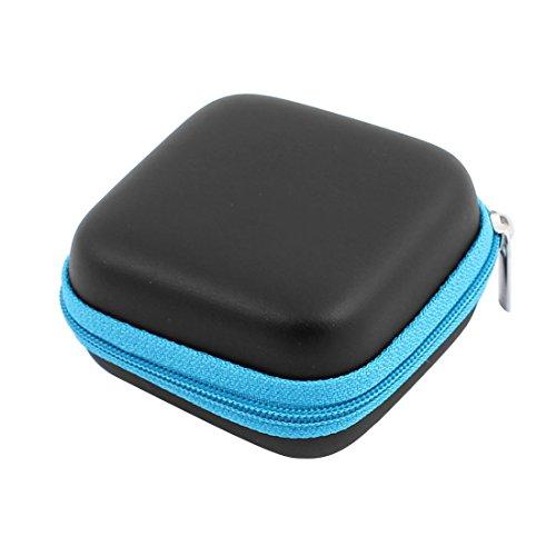 Aexit 80 x 70mm Mini Portable Kopfhörer Geldbörse Kopfhörer Fall Kabel Aufbewahrungsbox (ee718724d01288b71827c9d0569ff1fb)