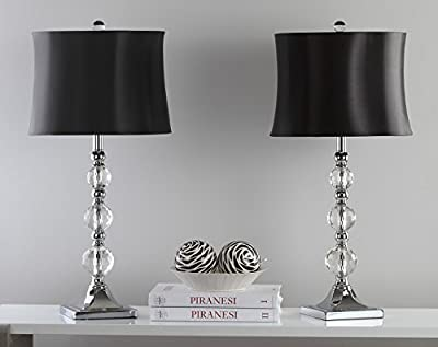 Safavieh Lighting Collection Maeve Crystal Ball 28-inch Table Lamp